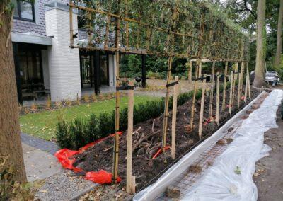 Tuinmuur laten metselen